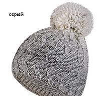 Красивая молодежная шапка с помпоном и снуд от Kamea -  Luisa., фото 3