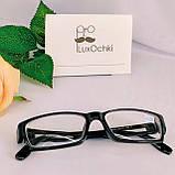 -3.5 Готовые очки для коррекции зрения в пластиковой оправе прямоугольные, фото 4
