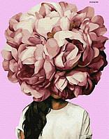 """Картина за номерами ПРЕМІУМ """"Квітковий настрій"""" (PGX36700)"""