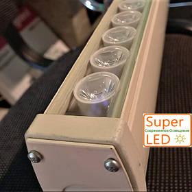 Лінійний архітектурний LED світильник з лінзами IP65 220V