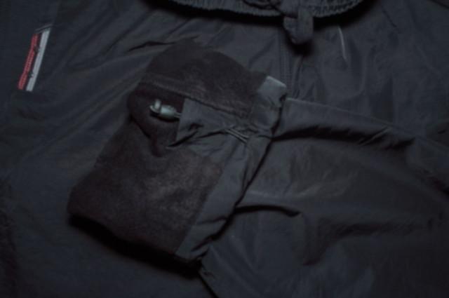 Штани чоловічі плащівка на флісі
