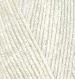 Нитки Alize Lanagold 800 1 кремовый, фото 2