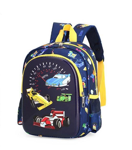 Детский рюкзачок для мальчика 3-5 лет с авто