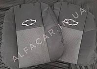 Чохли на сидіння Chevrolet Lacetti + підлокітник для сидіння Шевроле Лачеті Чохли в салон Якість Premium