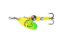 Блешня Savage Gear Caviar Spinner #4 14g 07-Fluo Yellow/Chartreuse
