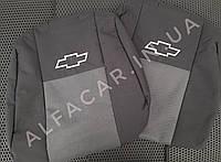 Чохли на сидіння Chevrolet Lacetti + підлокітник для сидіння Шевроле Лачеті Чохли в салон Якість