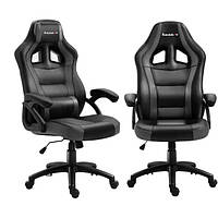 Комп'ютерне крісло для геймера Huzaro Force 4.2 black-grey, фото 1