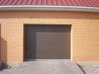 Гаражные секционные ворота 3000х2200 с автоматикой и монтажом