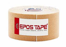 Кинезио тейп EPOS TAPE 3,75cм х 5м, бежевый (телесный)
