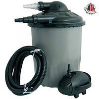 Фильтр для чистки воды Heissner FPU 10000-00 с напорным фильтром, Хайснер (4006873297352)