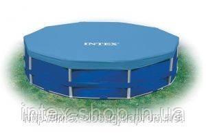 Тент для каркасных бассейнов Intex Pool Cover 457 см 58901