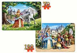 Пазлы Castorland 021017 Принцесса 70-135