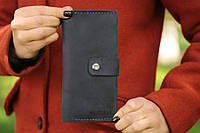 Женский портмоне кошелек с отделениями для карт, монет, купюр из натуральной кожи Индивидуальная гравировка