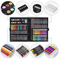 Набор для рисования и творчества, Чемоданчик с фломастерами, карандаши для детей, Art Set 228 предметов