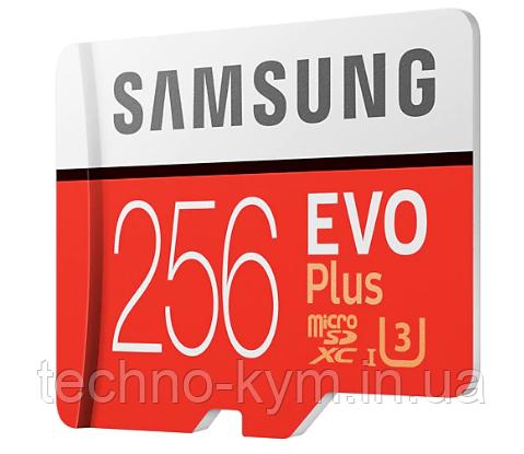 Карта пам'яті Micro SDXC 256GB Class10 Evo SAMSUNG Plus
