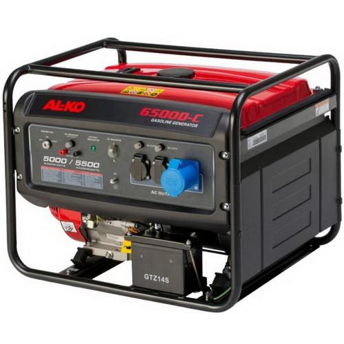 Генератор бензиновый AL-KO 6500 D-C (130932)