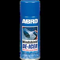 Размораживатель лобовых стекол аэрозоль 326г Abro WD-400