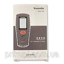 Толщиномер краски автомобильный цифровой Yunombo YNB-100 автокалибровка 0~1.80мм + 2 батарейки, фото 3