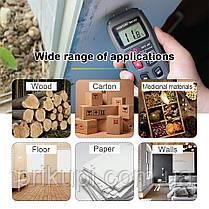 Влагомер для дерева MT-10 EMT01 - цифровой измеритель влажности древесины 0-99.9% (Оригинал), фото 2