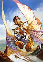 Пазлы Castorland 150489 Тигр и женщина