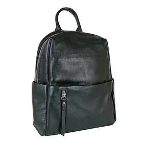Сумка-рюкзак шкіряні de esse Смарагдовий