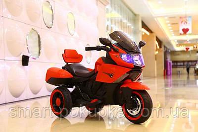 Їв-мобіль T-7224 RED мотоцикл 2*6V4AH мотор 2*20W з MP3 106*55*74 /1/