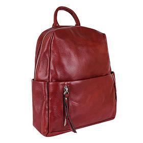 Сумка-рюкзак шкіряні de esse Теракотовий