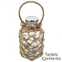Декоративная подвесная бутылка