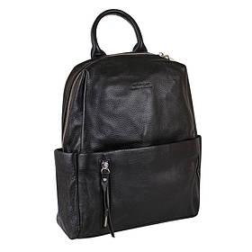 Сумка-рюкзак шкіряні de esse Чорна