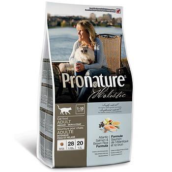 Pronature Holistic Adult Atlantic Salmon&Brown Rice ПРОНАТЮР ХОЛИСТИК С АТЛАНТИЧЕСКИМ ЛОСОСЕМ И КОРИЧНЕВЫМ