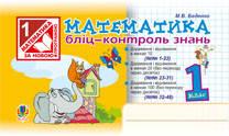 Богдан БКЗ Бліц Математика контроль знань