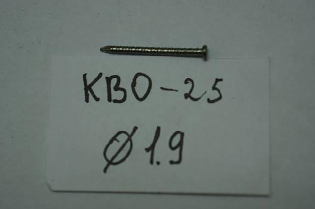 Гвозди  (винтовые)    КВО-25, фото 2