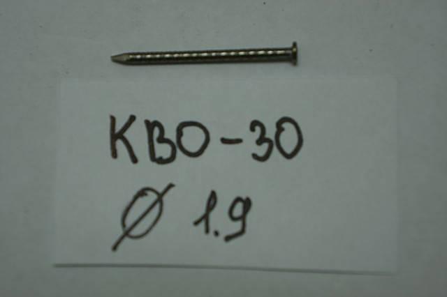 Гвозди  (винтовые)    КВО-30, фото 2