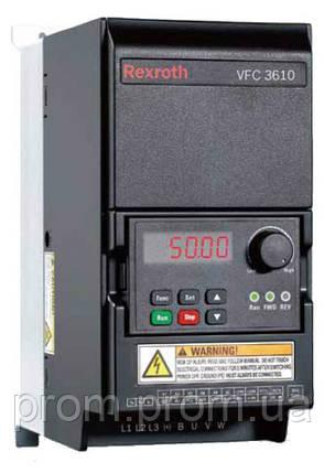 Преобразователи частоты Bosch Rexroth серии VFC 3610, фото 2