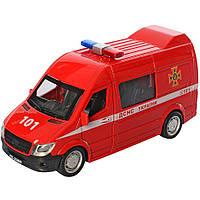 Игрушка Микроавтобус Металлический Инерционный, фото 1
