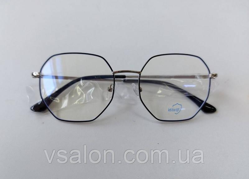 Очки компьютерные металл 8004