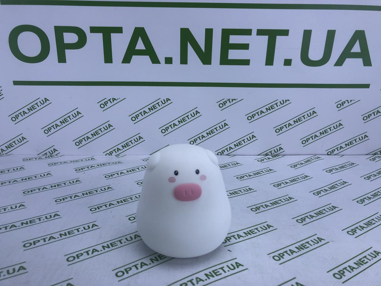 Силіконовий нічник Свинка Mini Pig LJC-127