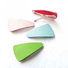 Шпилька клік-клак трикутна пластикова 55мм (набір з 4 штук)