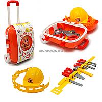 Набор инструментов для детей Tools set «Набор инструментов ТехноК», 9 деталей в чемодане (5866)