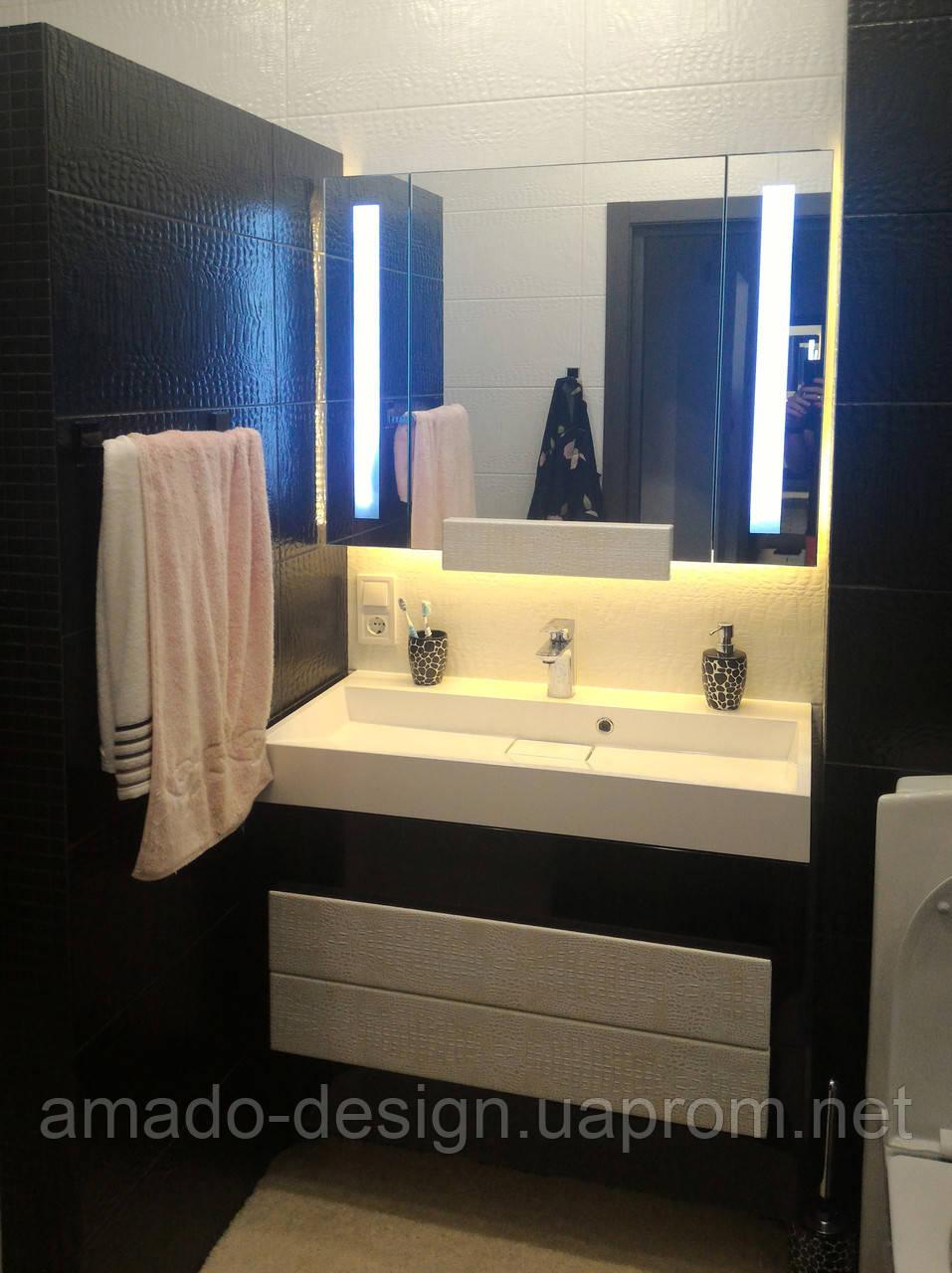 """Мебель в ванную комнату, мойдодыр - Мебельное ателье """"Амадо"""" в Одессе"""