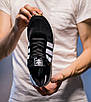 Кроссовки мужские Adidas Iniki Runner Core Black 2.0 Адидас Иники Черные, фото 5