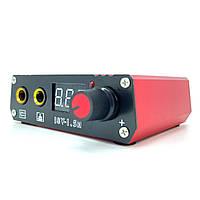 Блок живлення для тату машин з цифровим індикатором червоний