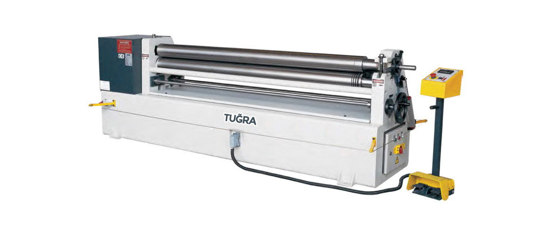 3-валковий гибочний верстат Tugra Makina 3R-MRM-H 1270 × 130