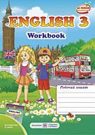 3 клас Робочий зошит Англійська мова 3 клас до Несвіт А4