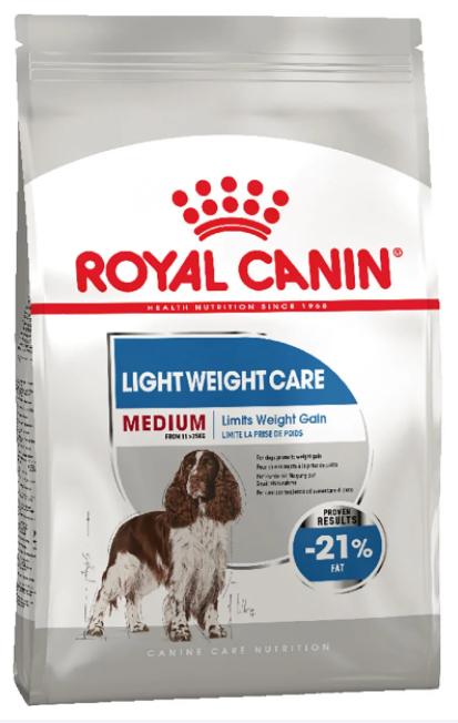 Royal Canin (Роял Канін) MEDIUM LIGHT WEIGHT CARE корм для собак середніх порід схильних до надмірної ваги, 3 кг