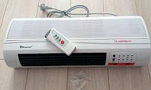 Тепловентилятор мощный настенный Domotec, кварцевый обогреватель настенный, обогреватели электрические