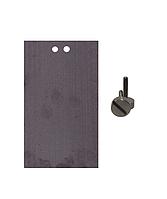 Кремниевый электрод Si99,99% ЭАВ-3 с титановым крепежом