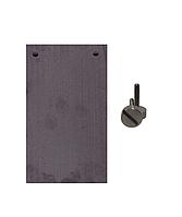 Кремниевый электрод Si99,99% ЭАВ-6Жемчуг с титановым крепежом