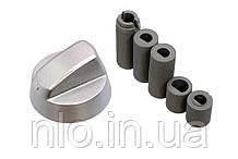 Ручка для духовки і плити, універсальна (срібло) d=42 (5 валів)