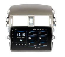 Штатна магнітола (2008-2013) TOYOTA COROLLA Android 10.1-2+16GB